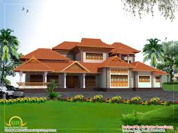 beautiful kerala style home architecture 3858 sq ft home