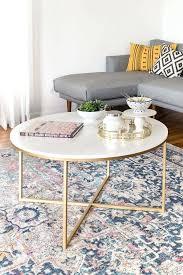 marble gold coffee table gold coffee table aria rose gold coffee table with white marble top