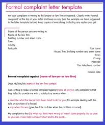 sample formal complaint letters against a person compudocs us