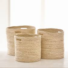 privet house supply u2014 jute storage baskets