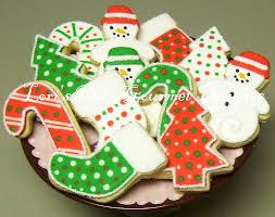 Decorated Gourmet Cookies Christmas Cookies Christmas Decorated Cookies 1 Dozen