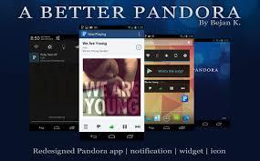 theme update 7 24 v3 1 a better pandora u2026 android development