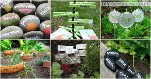garden markers 25 diy garden markers to organize and beautify your garden diy