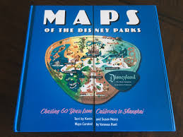 Map Of Disney World Parks Maps Of The Disney Parks U2013 Finding Your Way Through History Book
