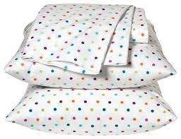 Polka Dot Bed Set Black And White Polka Dot Sheets Lesmurs Info