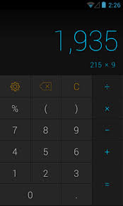 best android calculator calcu is a powerful android calculator app with gestures themes