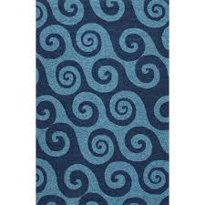 Coastal Indoor Outdoor Rugs Jaipur Rugs Coastal Wave Hello 2 X 3 Indoor Outdoor Rug Aqua
