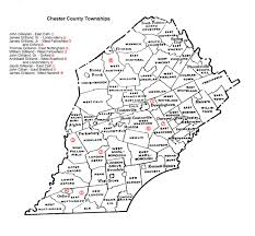 Pennsylvania Township Map by Gilliland Families A One Name Study Pennsylvania Research