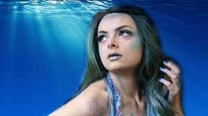 mermaid halloween makeup tutorial youtube