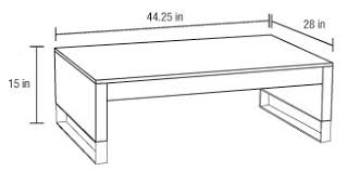 standard coffee table dimensions coffee tables ideas awesome coffee table dimensions standard coffee