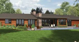 contemporary ranch homes contemporary ranch style homes house plans modern cottage kaf