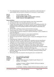 It Project Manager Resume Sample Doc by Qa Qc Civil Engineer Resume Sample Contegri Com