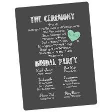 Design Wedding Programs Custom Wedding Programs
