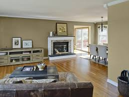 stunning living room color schemes brown stained wall color brown