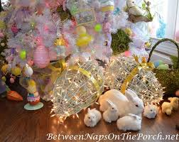 Easter Decorations Trees by Ideas For Decorating For Spring And Easter