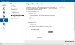 manage skype for business online access configuration manager