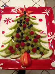 christmas fruit tree healthy and pretty ho ho ho pinterest