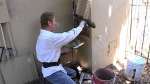 simple chimney stucco repairs over bricks for the diy u0027er youtube