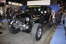 black jeep wrangler black jeep wrangler sema 2011 drivingscene