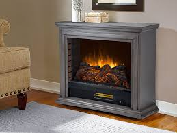 Infrared Electric Fireplace Sheridan Infrared Electric Fireplace Heater In Dark Weathered Grey