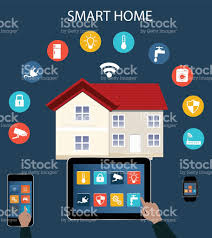 smart home automation stock vector art 518174636 istock
