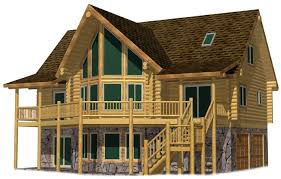 side porches low budget spruce lodge glass prow big deck covered side porches