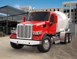 kenworth concrete truck peterbilt introduces model 567 set forward axle configuration