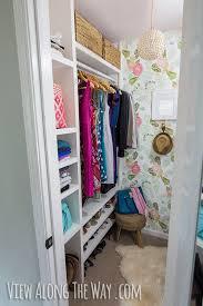 bathroom closet shelving ideas how to build custom closet shelves view along the way