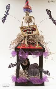 chattering robins halloween lantern