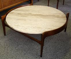 mid century marble coffee table amazing vintage round coffee table mid century modern danish walnut