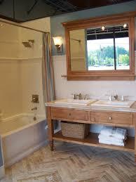 simple subway tiles along with a marble herringbone floor is a decor nautical themed items bathroom corps decor interior decor