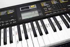 Piano Key Notes Amazon Com Piano Stickers For 49 61 76 88 Key Keyboards