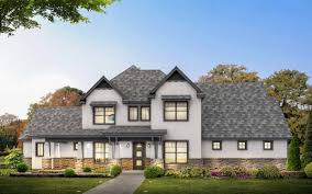european house plan with first floor master 430005ly