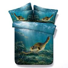 3d bedding set tortoise bedding print twin queen king super king