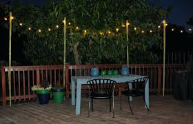 solar lights string 20ct g40 light set patio cafe globe string