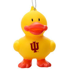 hoosiers duck ornament