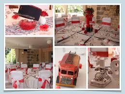 Deco Mariage Blanc Et Rouge pompier 001 jpg