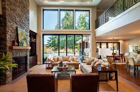 interior design open concept living room kitchen stately contemporary rustic interior design home by garrison hullinger