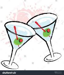 martini clip art png olive martini cocktail drink vector stock vector 570531583