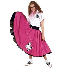 poodle skirt halloween costume complete poodle skirt plus red u0026 white costumes life