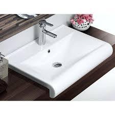 Narrow Depth Bathroom Sinks Shallow Bathroom Sinksobsidian Modern Bathroom Vanities And Sink