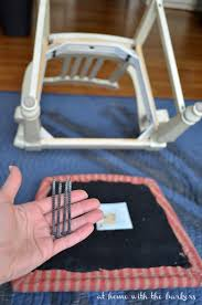 Recover Chair How To Recover Kitchen Chairs At Home With The Barkers