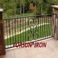 forged iron balcony railing wrought iron balcony designs wrought