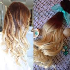Blonde Hair Extensions Clip In by Ombre Hair Extensions Full Set Balayage Hair Extensions
