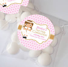holy communion favors personalised holy communion favours sweet bags chocolates