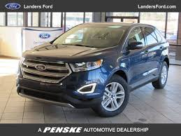 Ford Edge Safety Rating 2017 New Ford Edge Sel Fwd At Landers Ford Serving Little Rock