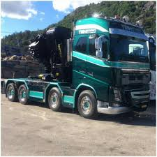 truckertotrucker volvo volvo fh zwaar autokraan super truck crane pinterest volvo