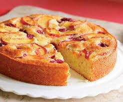raspberry recipes raspberry peach cake recipe finecooking
