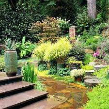 Shade Garden Ideas Shaded Backyard Ideas Landscaping Stairs Chuck Does