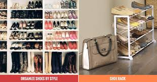15 super cheap ways to organize your shoes